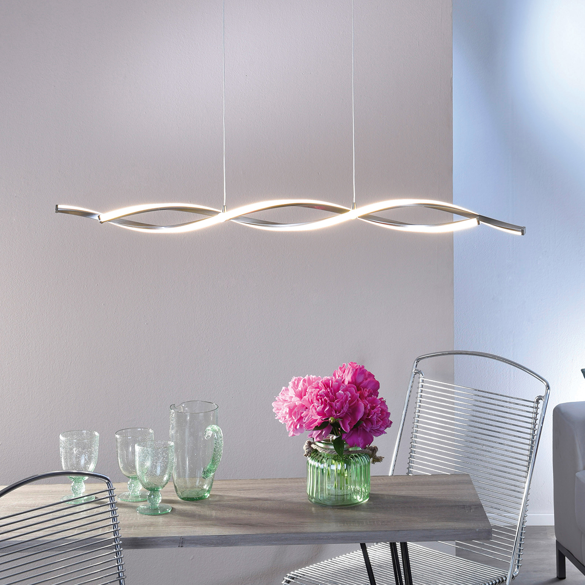 Filigrane LED hanglamp Polina