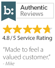 Service rating 4.8 / 5