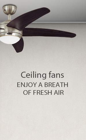 Ceiling fans & accessories