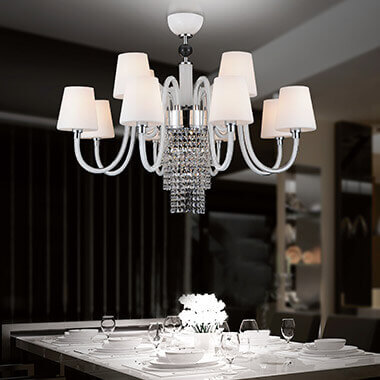 A classic chandelier from Lights.co.uk