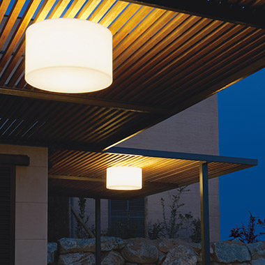 Outdoor Ceiling Lights online from Lights.co.uk