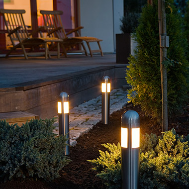 Buy Pillar Lights online from Lights.co.uk