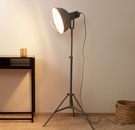 Tripod Floor Lamps Lights Co Uk