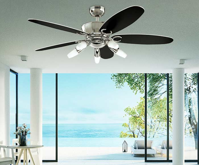 Ceiling fans for the summer